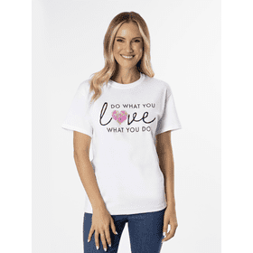 Do What You Love Love What You Do T-Shirt - XL