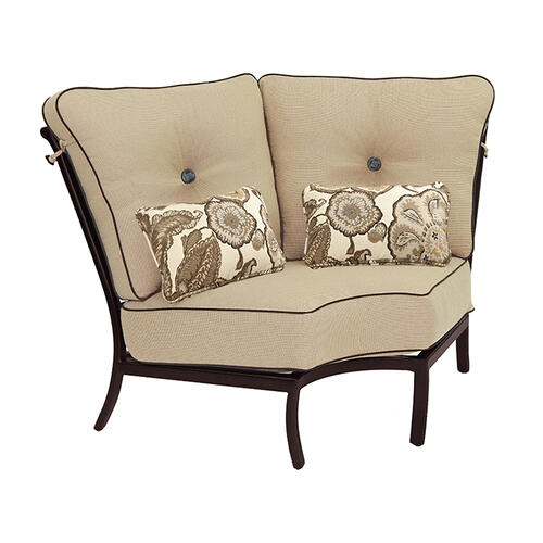 Castelle - Monterey High Back Sectional Corner Lounge Chair
