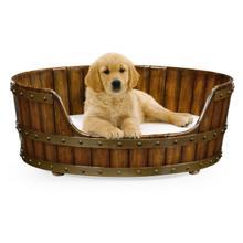 Product Image - Medium Walnut Wooden Dog Bed