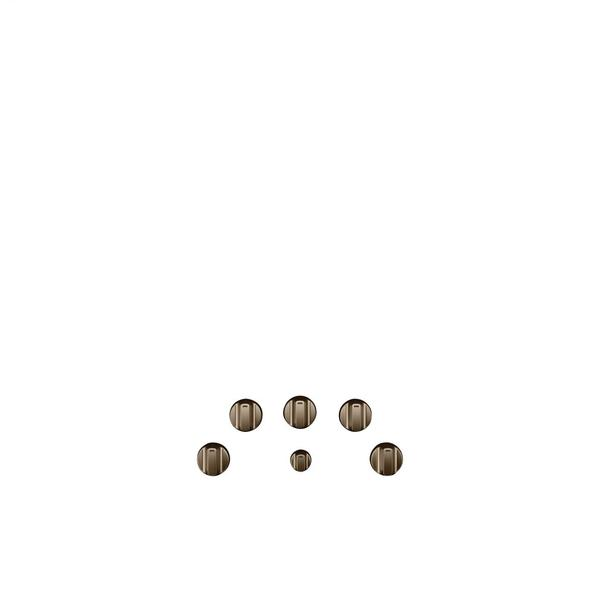 Café 5 Electric Cooktop Knobs - Brushed Bronze