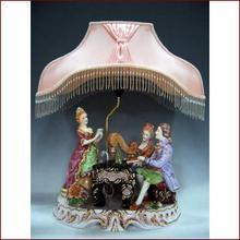 Piano & Harp Lamp