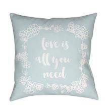 "Love All You Need QTE-043 20"" x 20"""