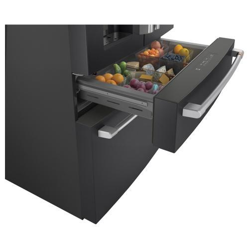 Cafe - Café™ ENERGY STAR® 27.8 Cu. Ft. Smart 4-Door French-Door Refrigerator