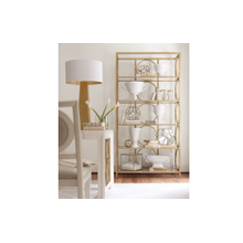 Tower Suite - Pearl Finish Etagere