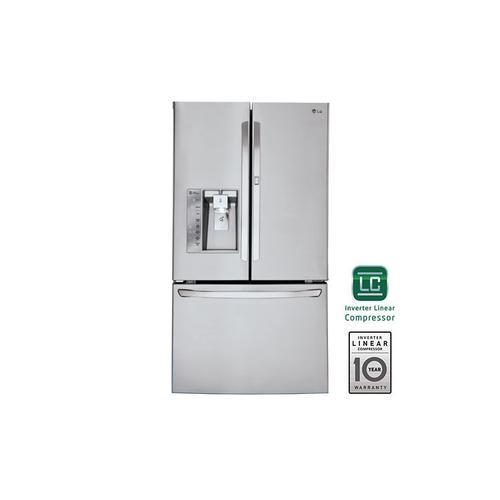 LG - 30 cu.ft. Super-Capacity French Door Refrigerator w/ Door-in-Door®