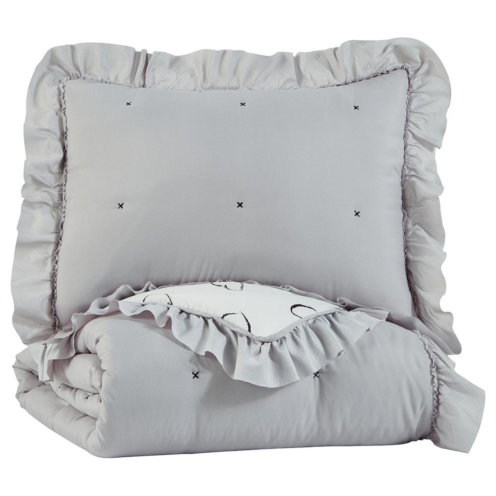 Hartlen Twin Comforter Set