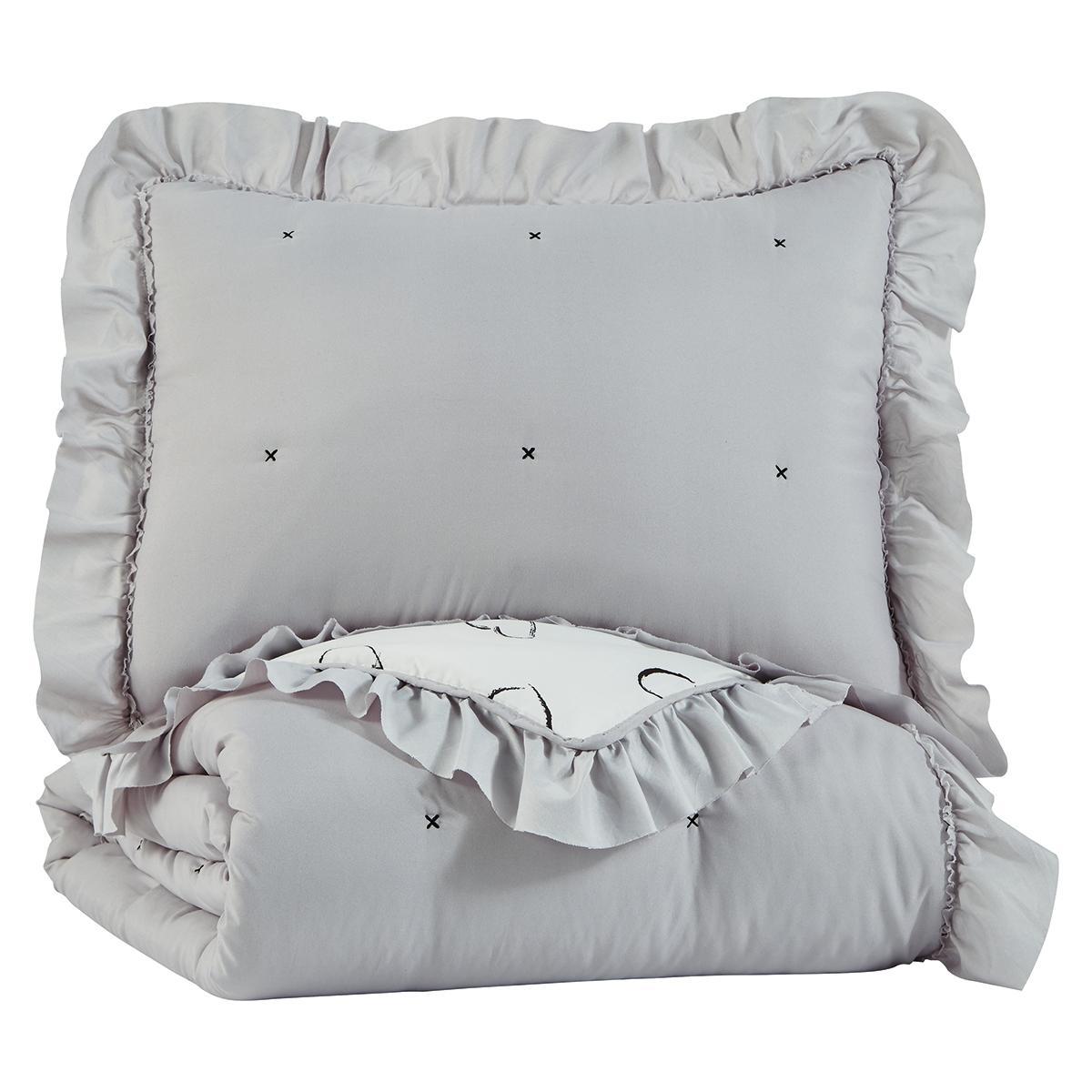See Details - Hartlen Twin Comforter Set