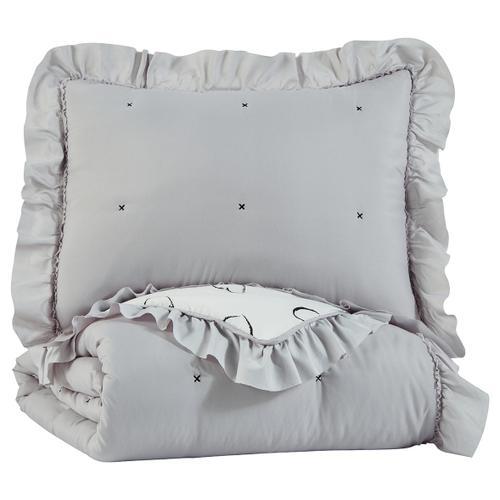 Signature Design By Ashley - Hartlen Twin Comforter Set