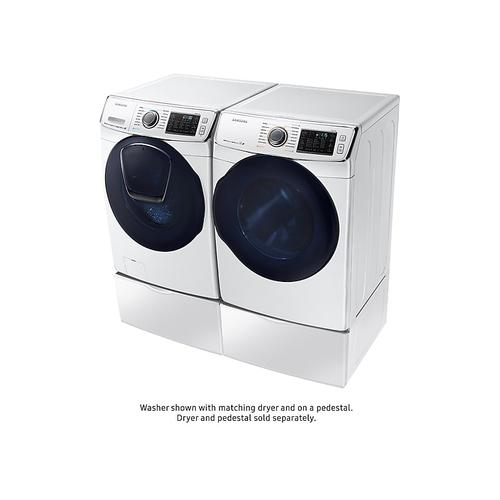 5.0 cu. ft. AddWash™ Front Load Washer in White