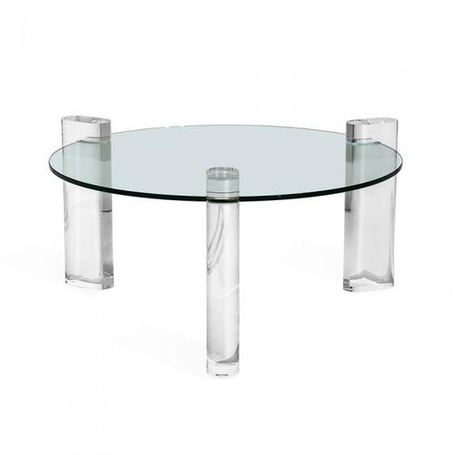 """Channing Round Cocktail Table - 36""""diam"""