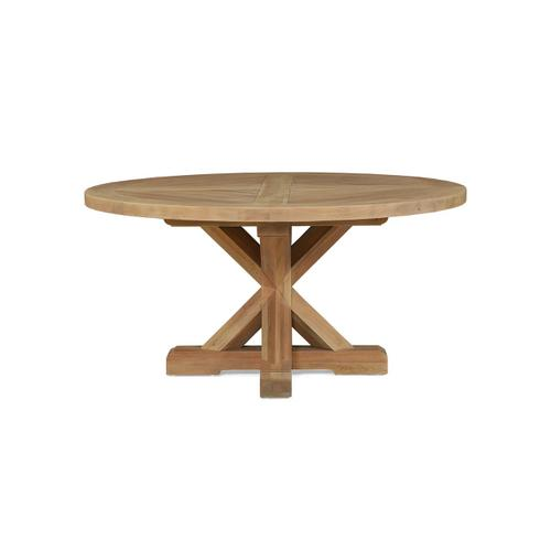 Gallery - Bankside Trestle Round Dining Table 60''