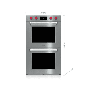 """Wolf30"""" M Series Professional Built-In Double Oven"""
