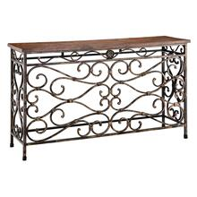 Butte Console Display Table