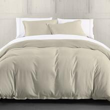 Hera Linen Duvet Cover, 4 Colors (queen/king) - Super King / Light Tan
