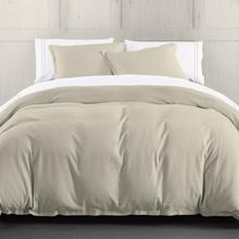 Hera Linen Duvet Cover, 4 Colors - Super Queen / Light Tan