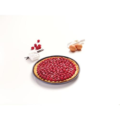 HBF 27-1 - Round baking tray with PerfectClean finish.
