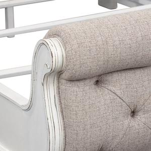 Liberty Furniture Industries - King California Upholstered Sleigh Bed