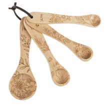 Measuring Spoons - Flowers (4 pc. set)