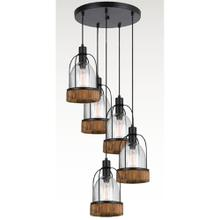 60W X 5 Beacon Pendant Fixture(Edison Bulbs Not included)