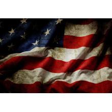 American Flag (framed)