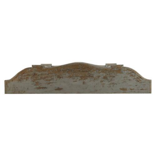 Washed Blue Briquette Sideboard