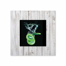 See Details - Kiwi With Background Miniature Fine Wall Art