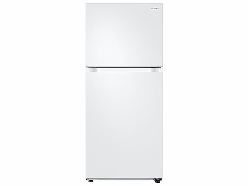 Samsung18 Cu. Ft. Top Freezer Refrigerator With Flexzone™ And Ice Maker In White