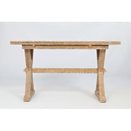 Pacific Heights Drop Leaf Sofa Table/desk- Bisque