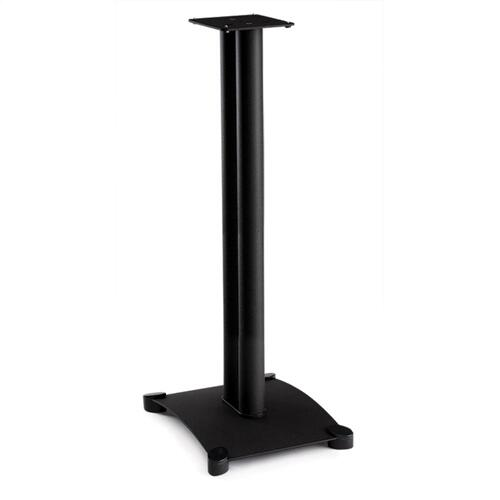 "34"" Steel Series Bookshelf Speaker Stand Pair"