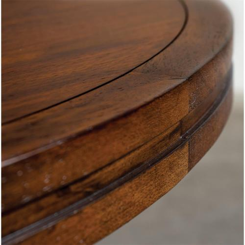 Round Coffee Table - Portobello Finish