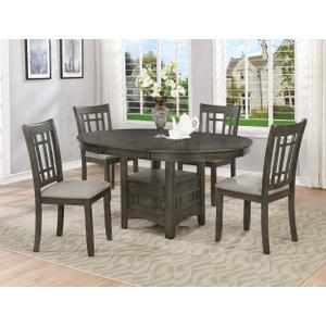 """Hartwell Dining Table Grey (1x18""""l)"""