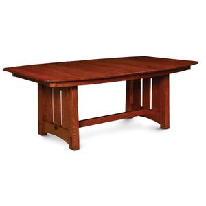 McCoy Trestle Table, Solid Top