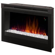 "See Details - Dimplex DFR 25"" Plug-in Electric Firebox, 120V, 1500W, 5000 BTU"