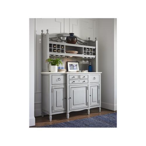 Universal Furniture - Summer Hill Serving Buffet with Bar Hutch