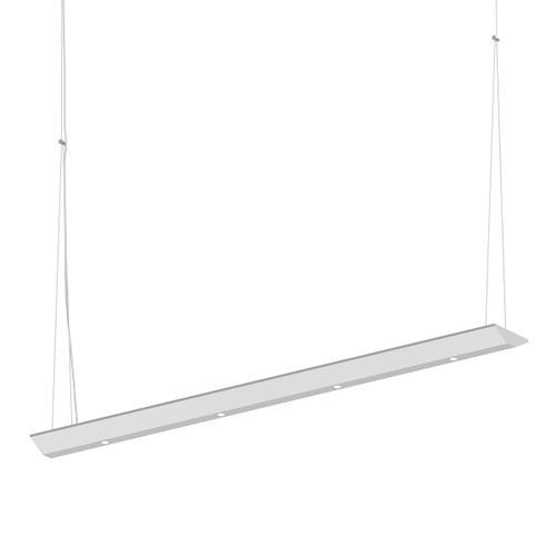 "Sonneman - A Way of Light - Votives LED Bar Pendant [Size=3', Color/Finish=Satin White, Shade Size=.25"" height x 2.25"" diameter]"
