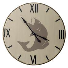 "Langara 38.5"" Round Oversize Lakeside Wall Clock"