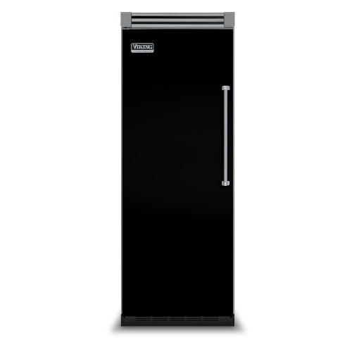 "Viking - Black 30"" Quiet Cool™ All Refrigerator - VIRB Tru-Flush™ (Left Hinge Door)"