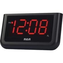 "Alarm Clock with 1.4"" Red Display"