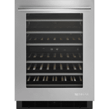 "24"" Under Counter Wine Cellar, Euro-Style Stainless Handle"