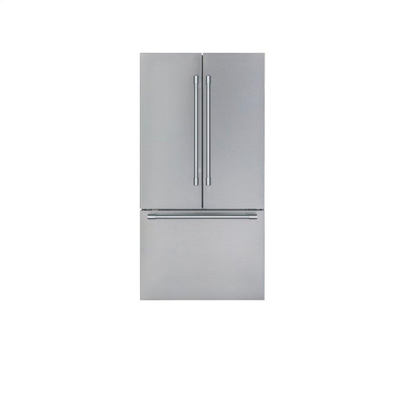 Thermador Freedom® French Door Bottom Mount Refrigerator 36in. Professional Stainless steel T36FT820NS
