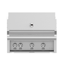 """See Details - 36"""" Hestan Outdoor Built-In Grill - G_BR Series - Steeletto"""