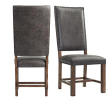See Details - Gramercy Tall Back Side Chair Set