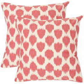 Polka Dots Pillow - Rose