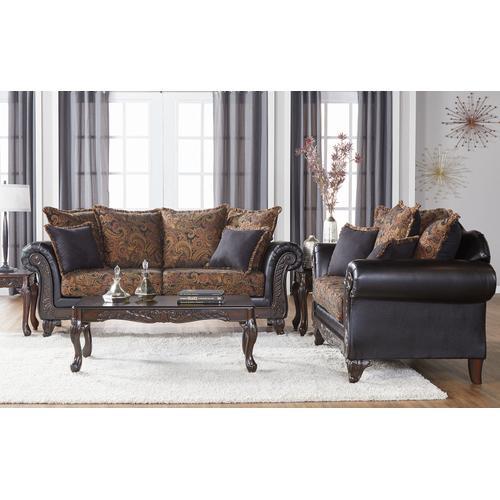Hughes Furniture - 7685 Loveseat
