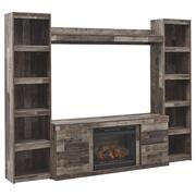 Derekson 4-piece Entertainment Center With Electric Fireplace Product Image