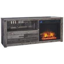 """Derekson 59"""" TV Stand With Fireplace"""