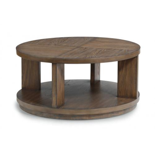 Maximus Round Coffee Table with Casters