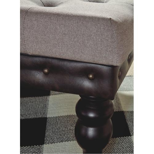 Moondusk Oversized Accent Ottoman