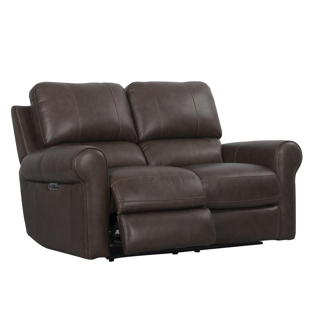 TRAVIS - VERONA BROWN Power Loveseat