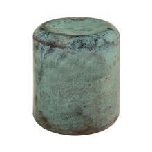 Bohemia Green Steel Stool